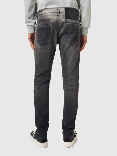 Diesel - D-Strukt JoggJeans® 09B04, Nero/Grigio scuro - Jeans - Image 2