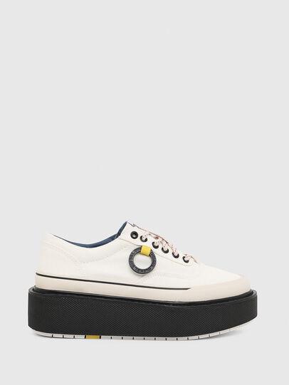 Diesel - H-SCIROCCO LOW, Bianco/Rosa - Sneakers - Image 1