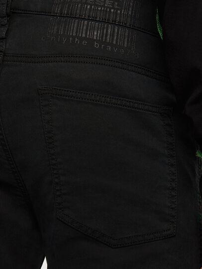 Diesel - D-Reeft JoggJeans 009HD, Nero/Grigio scuro - Jeans - Image 5