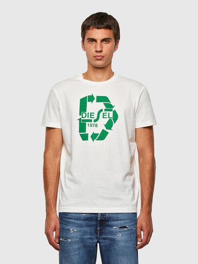 Diesel - T-DIEGOS-N23, Bianco - T-Shirts - Image 1