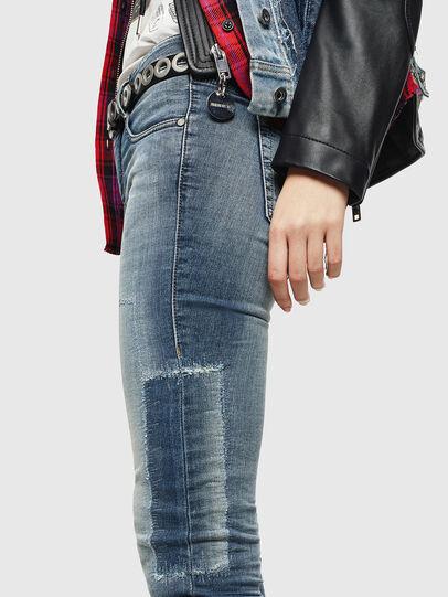 Diesel - D-Ollies JoggJeans 069JZ, Blu Chiaro - Jeans - Image 4