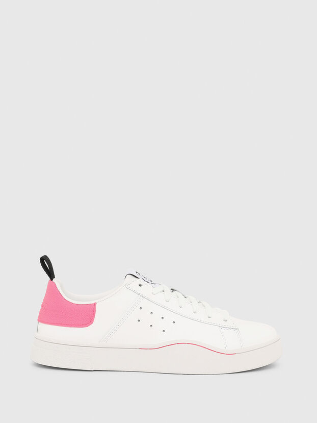 S-CLEVER LOW W, Bianco/Rosa - Sneakers