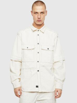 D-KURTIS, Bianco - Camicie in Denim