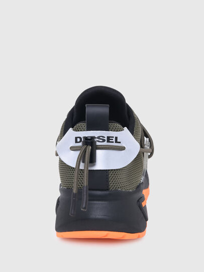 Diesel - S-KB UP LACE, Verde Militare - Sneakers - Image 6