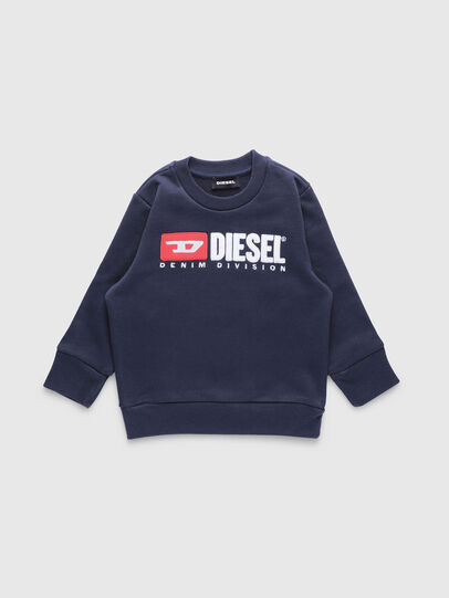 Diesel - SCREWDIVISIONB-R, Blu Scuro - Felpe - Image 1