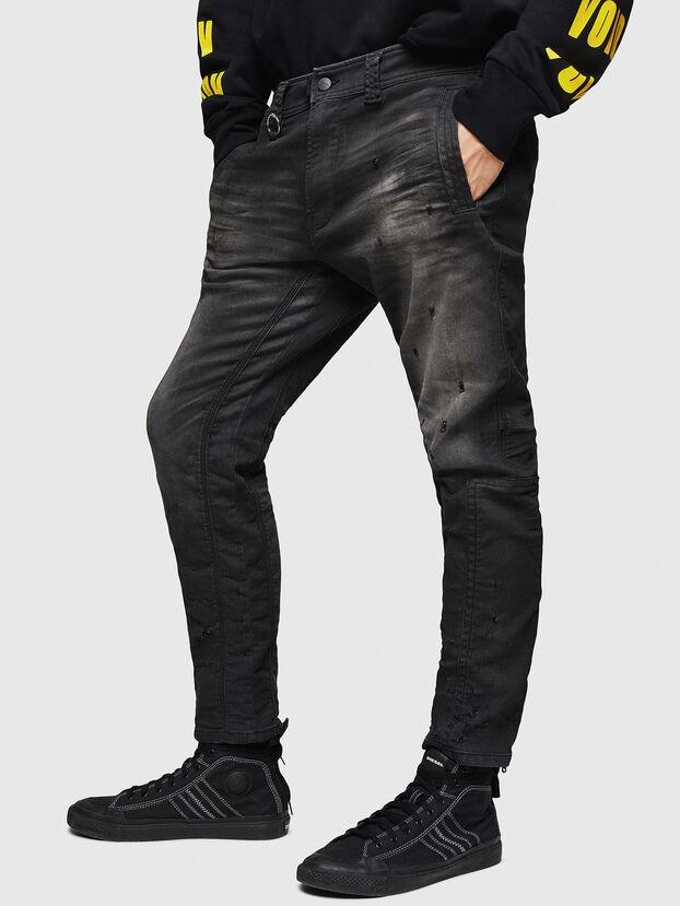D-Earby JoggJeans 069GN, Nero/Grigio scuro - Jeans
