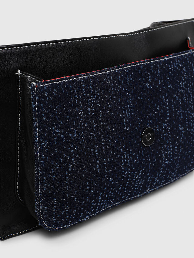Diesel - MISS-MATCH CROSSBODY, Blu Jeans - Borse a tracolla - Image 5