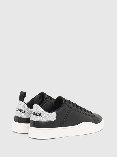 Diesel - S-CLEVER LOW LACE W, Nero/Argento - Sneakers - Image 3