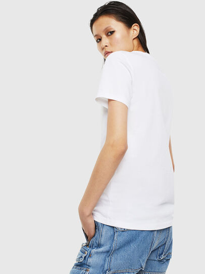 Diesel - T-SILY-S2, Bianco - T-Shirts - Image 2