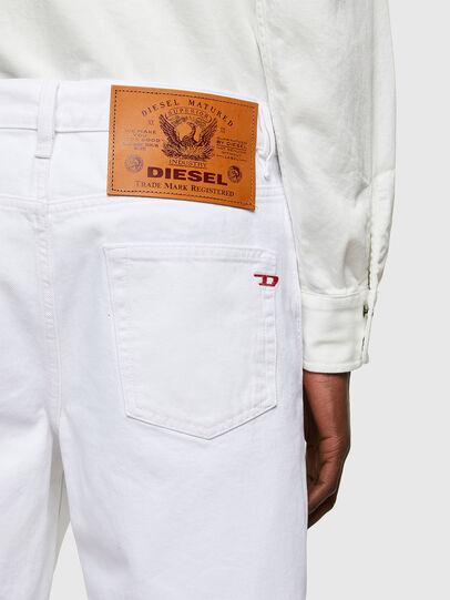 Diesel - D-STRUKT-SHORT, Bianco - Shorts - Image 4