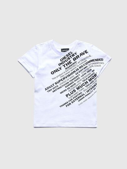 Diesel - TDIEGOS3B-R, Bianco - T-shirts e Tops - Image 1