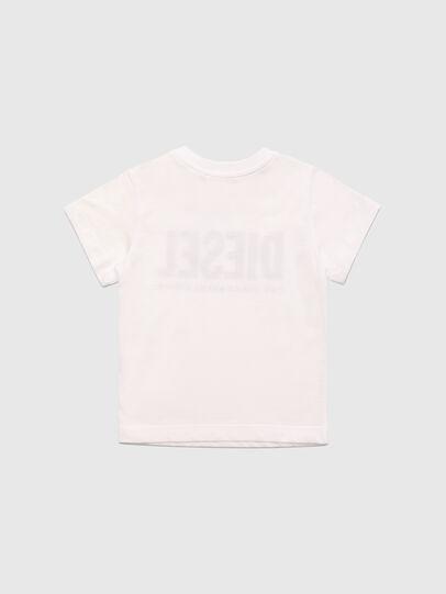 Diesel - TJUSTLOGOB, Bianco - T-shirts e Tops - Image 2