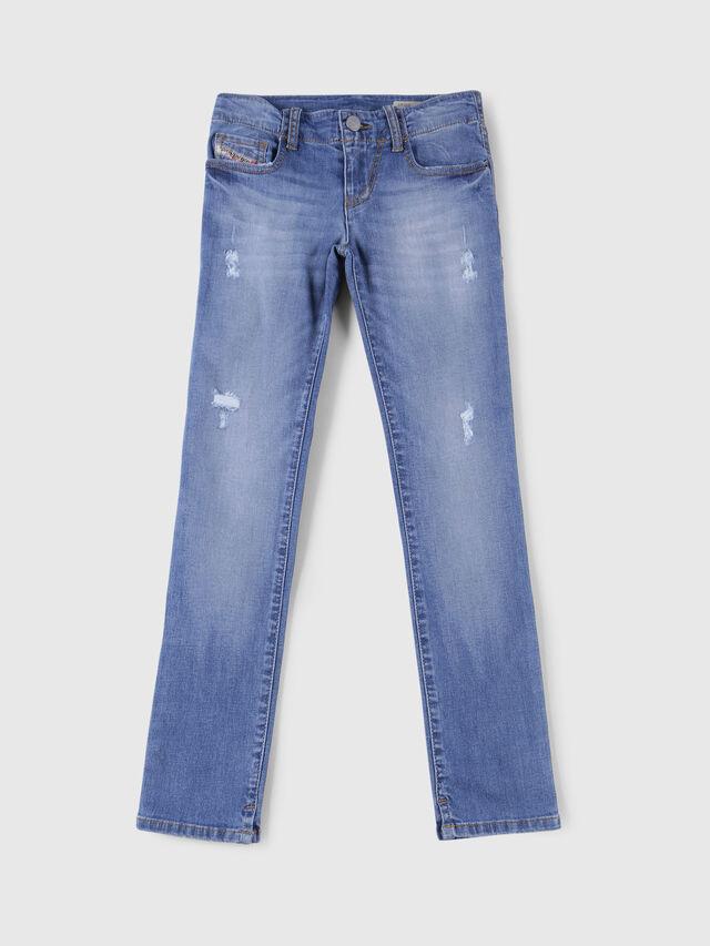 Diesel - GRUPEEN-J-N, Blu Chiaro - Jeans - Image 1