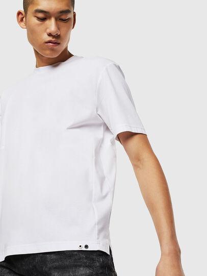 Diesel - T-TOMI, Bianco - T-Shirts - Image 4