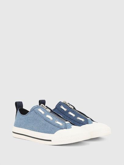 Diesel - S-ASTICO LZIP, Blu - Sneakers - Image 2