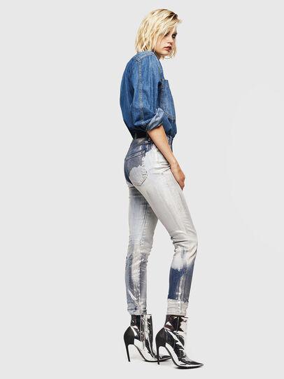 Diesel - Babhila 0094W, Blu medio - Jeans - Image 7