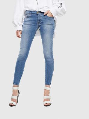 Slandy Low 0095B, Blu Chiaro - Jeans