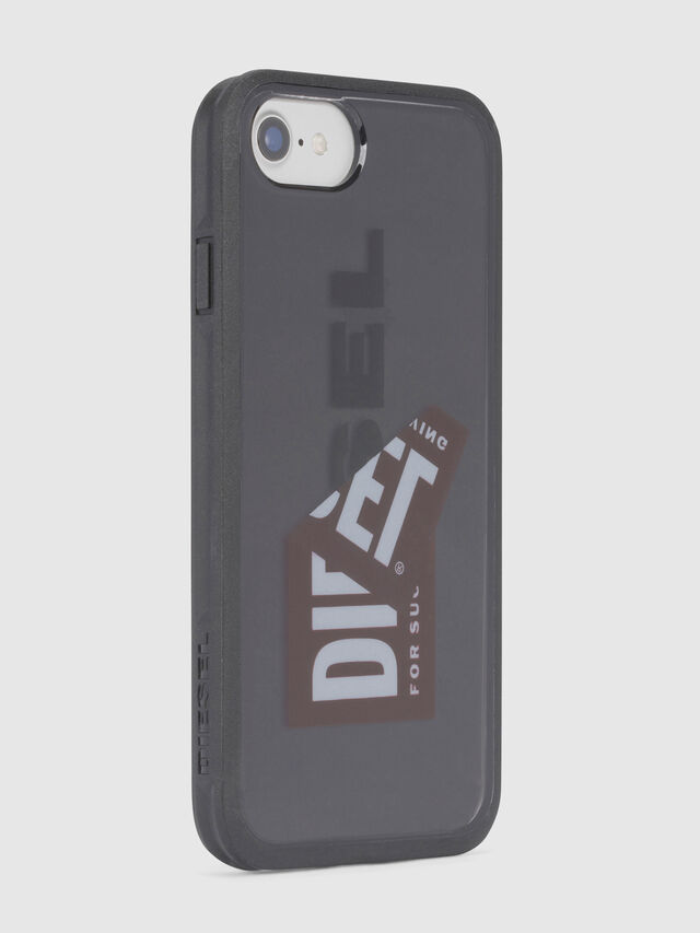 Diesel STICKER IPHONE 8/7/6S/6 CASE, Nero - Cover - Image 3