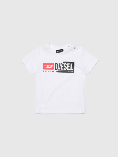Diesel - TDIEGOCUTYB, Bianco - T-shirts e Tops - Image 1