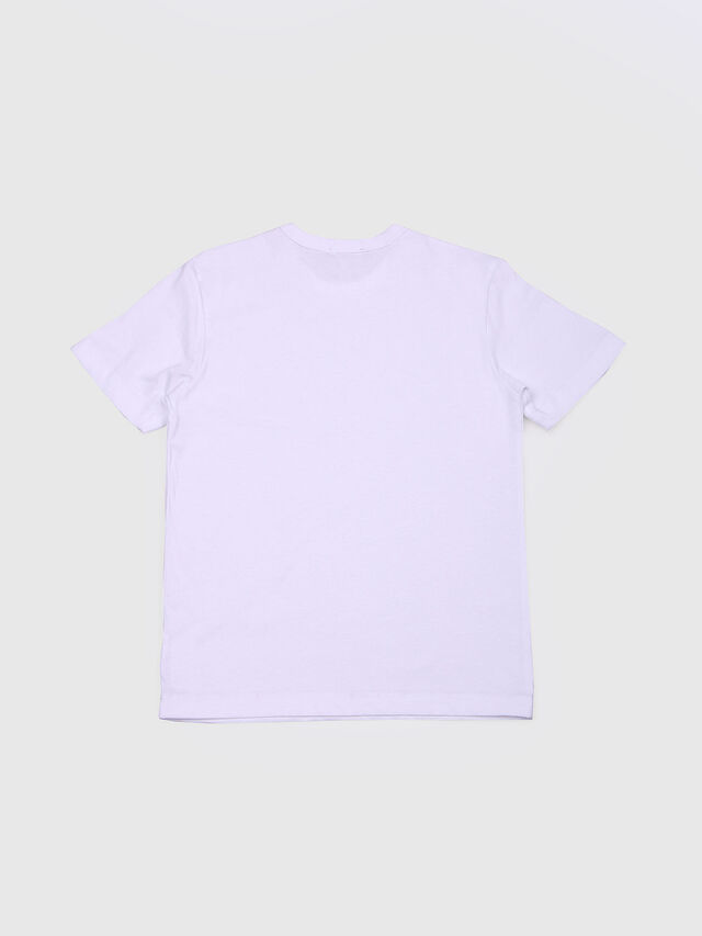 Diesel - TOCLE, Bianco - T-shirts e Tops - Image 2
