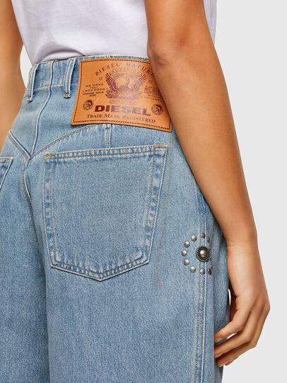 Diesel - D-Concias 009RQ, Blu Chiaro - Jeans - Image 4