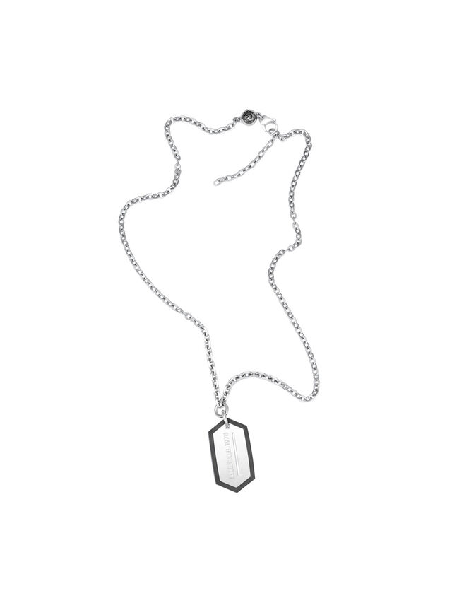 NECKLACE DX0996, Argento