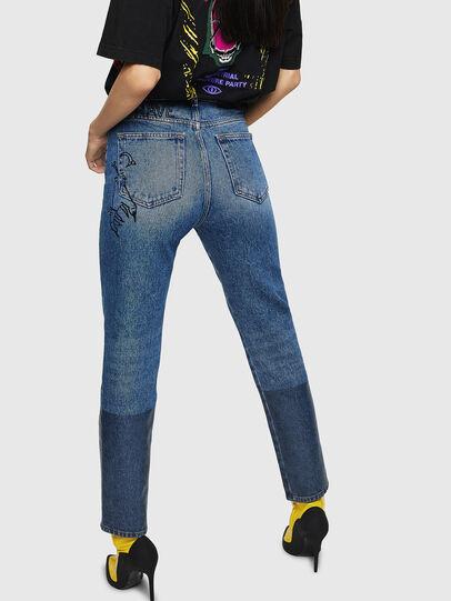 Diesel - D-Eiselle 0078T, Blu Chiaro - Jeans - Image 2