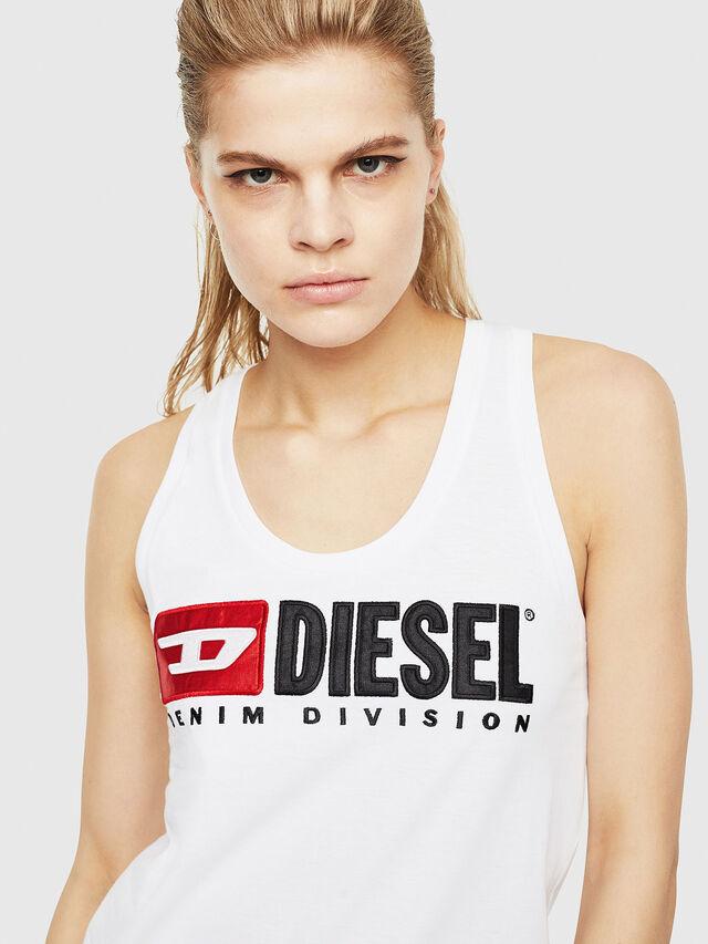 Diesel - T-SILK, Bianco - Tops - Image 3