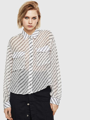 C-SUPERIOR, Bianco/Nero - Camicie