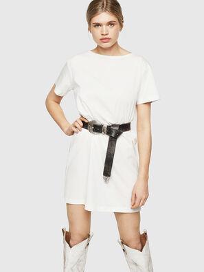 size 40 f33c8 0d188 Abito T-shirt in cotone con dettaglio in nastro
