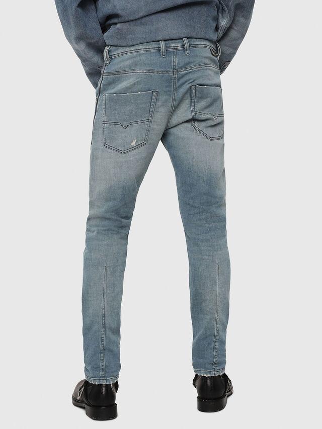 Diesel - Krooley JoggJeans 086AY, Blu medio - Jeans - Image 2