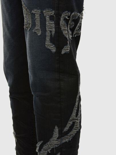 Diesel - D-Vider JoggJeans 009HE, Blu Scuro - Jeans - Image 4