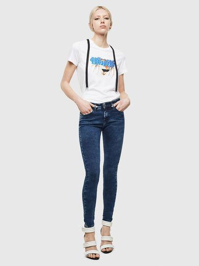 Diesel - Slandy 0094Z, Blu Scuro - Jeans - Image 6