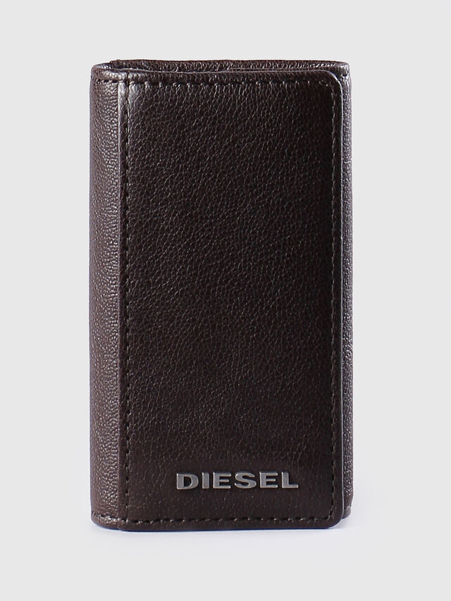 Diesel - KEYCASE O, Marrone - Bijoux e Gadget - Image 1