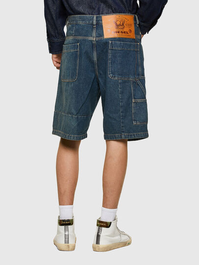 Diesel - D-FRANS-SP, Blu medio - Shorts - Image 2