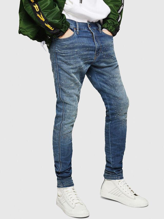 Diesel - D-Reeft JoggJeans 069HG, Blu medio - Jeans - Image 1