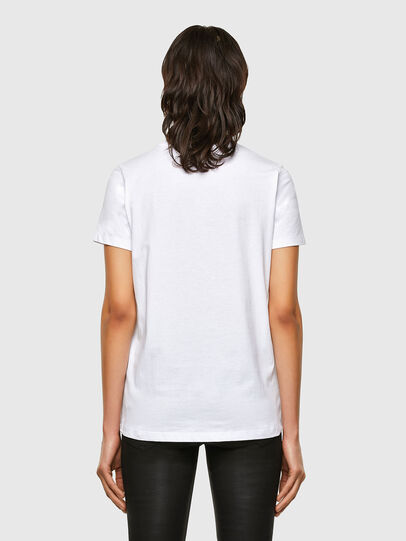 Diesel - T-SILY-K5, Bianco - T-Shirts - Image 2
