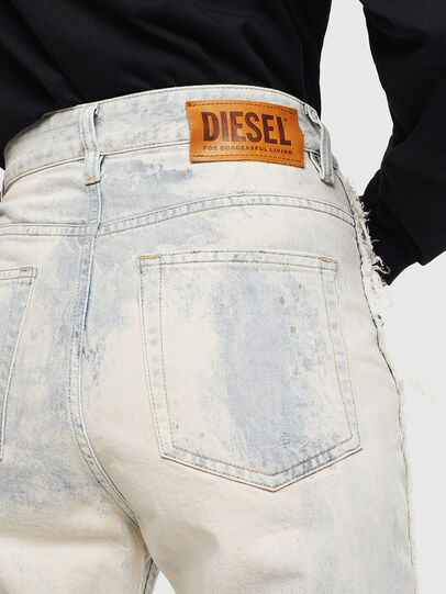Diesel - D-Eiselle 0099P, Bianco - Jeans - Image 6
