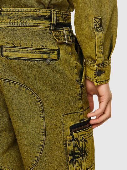 Diesel - D-CYAN-S-SP, Verde - Shorts - Image 3