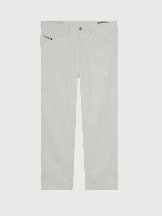 D-Franky 009BZ, Bianco - Jeans