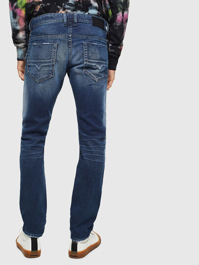 Diesel - Thommer 009BQ, Blu Scuro - Jeans - Image 2