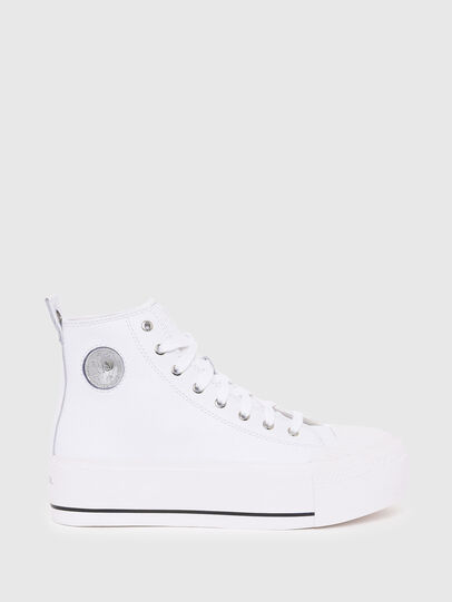 Diesel - S-ASTICO MC WEDGE, Bianco - Sneakers - Image 1