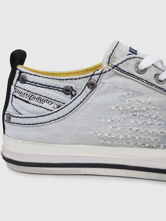 Diesel - EXPOSURE IV LOW  W, Blu Chiaro - Sneakers - Image 4