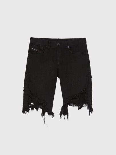 Diesel - D-KRASY, Nero - Shorts - Image 1