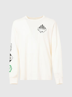 T-JUST-LS-N60, Bianco - T-Shirts