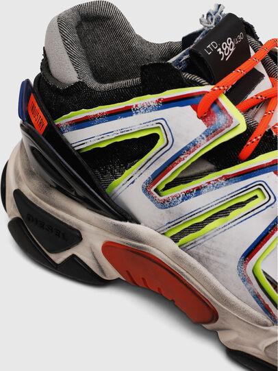 Diesel - S-KIPPER SK, Bianco/Nero - Sneakers - Image 4