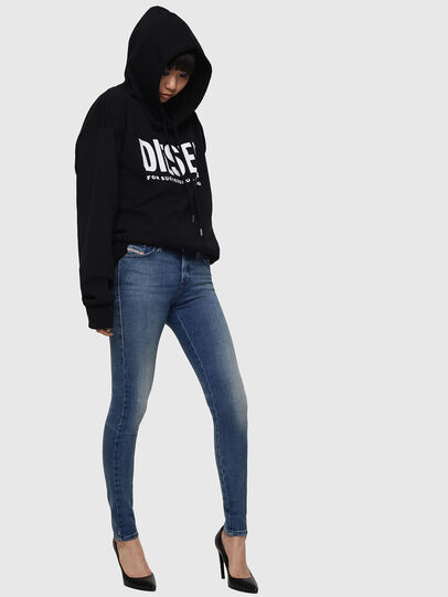 Diesel - Slandy 083AQ, Blu medio - Jeans - Image 5