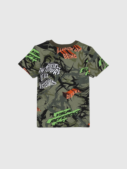 Diesel - TESEOB-R, Verde Militare - T-shirts e Tops - Image 2