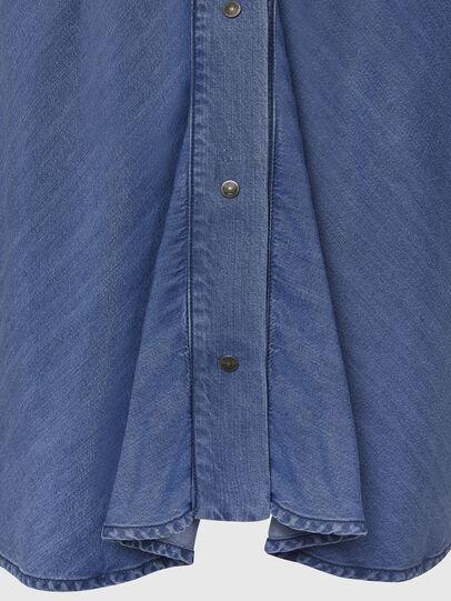 Diesel - DE-NILLA, Blu Chiaro - Camicie in Denim - Image 3