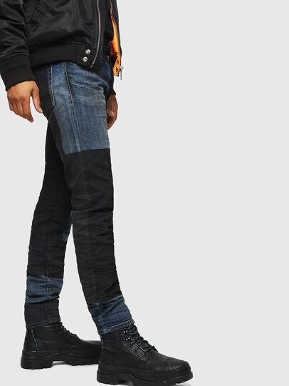 Diesel - D-Strukt 0094K, Blu Scuro - Jeans - Image 3